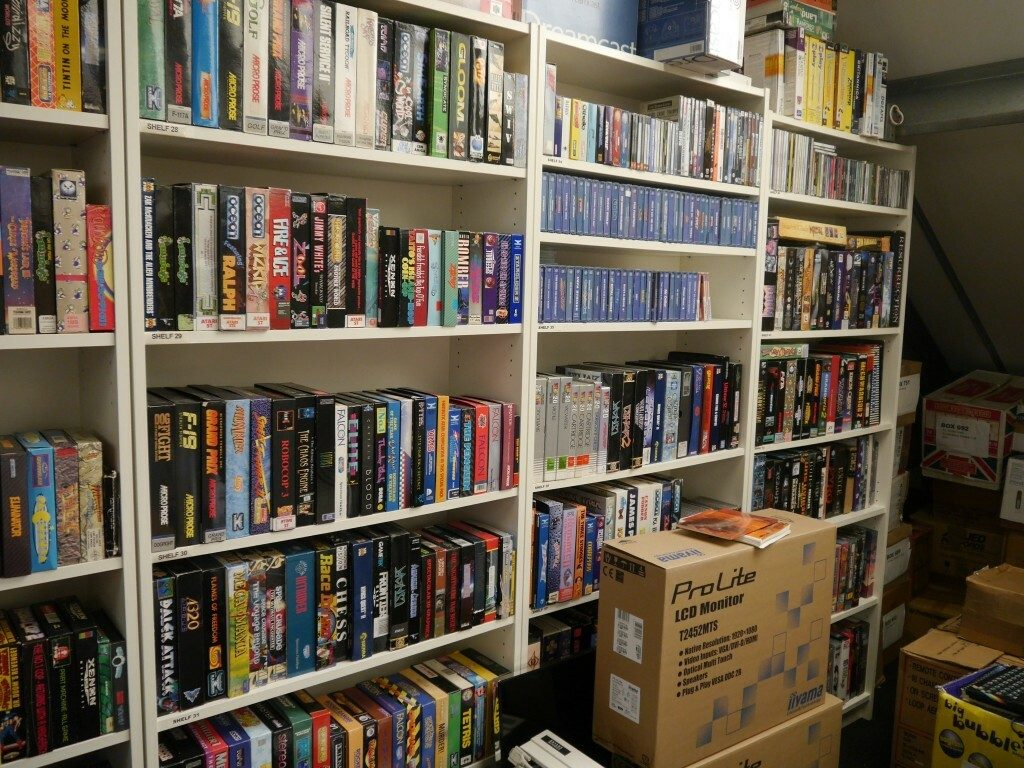 Some of the games in the archive