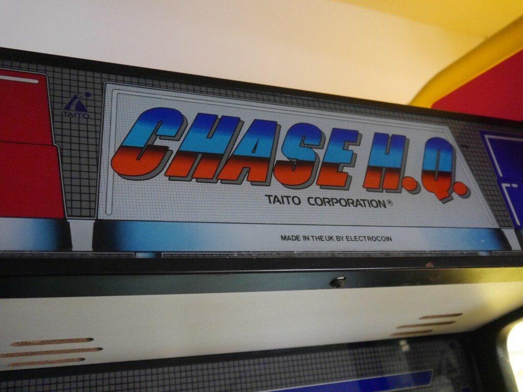 Chase HQ Arcade Detail