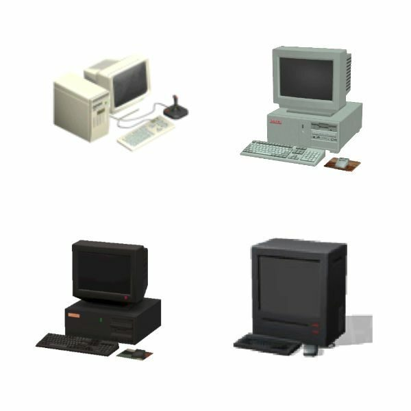 Base Computers from Sims Games