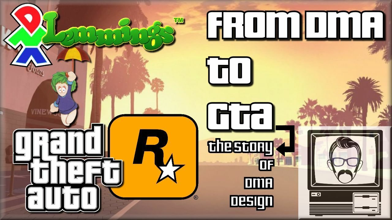 DMA Design to Rockstar North