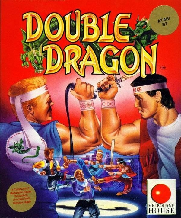 Double Dragon Atari ST Box