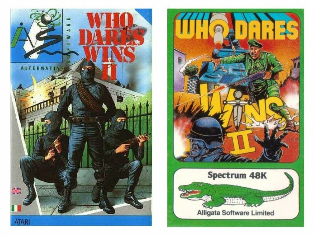 Who Dares Wins II Release and Re-Release