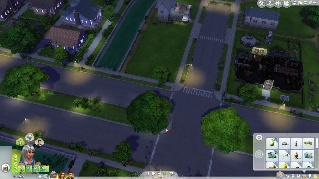 Sims 4 Neighbourhood