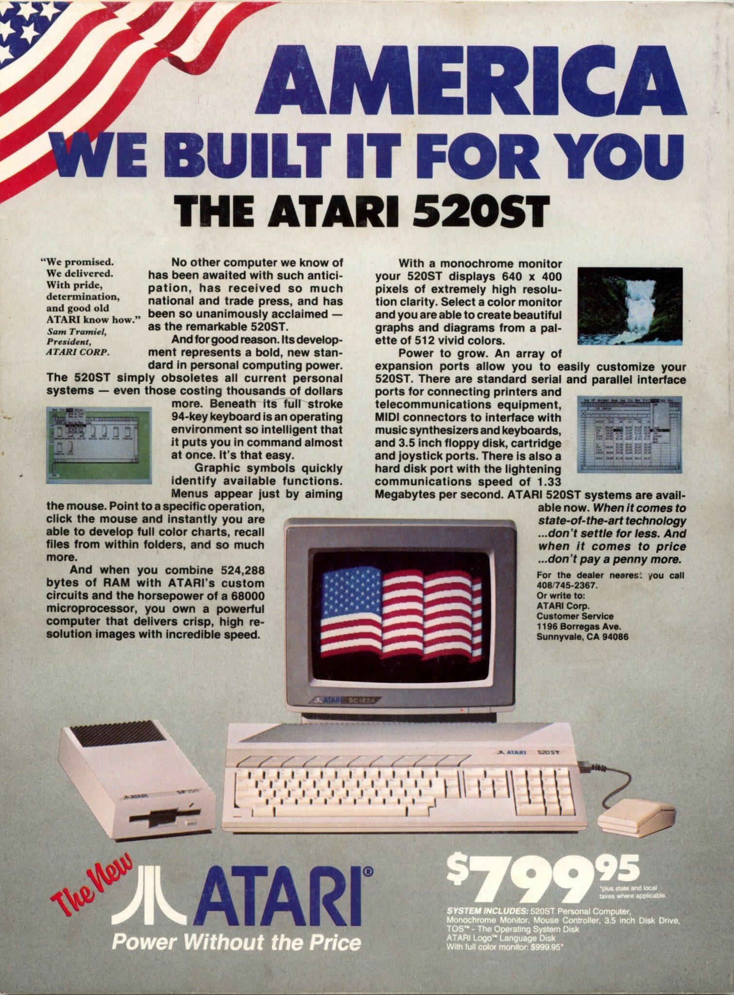 * ATARI ST * TOPIC OFFICIEL - Page 21 1985-atari-america_0000