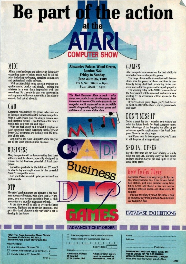 An old Atari Advert