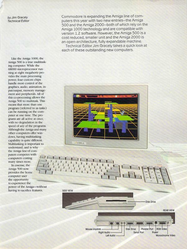 Commodore Magazine Amiga 500