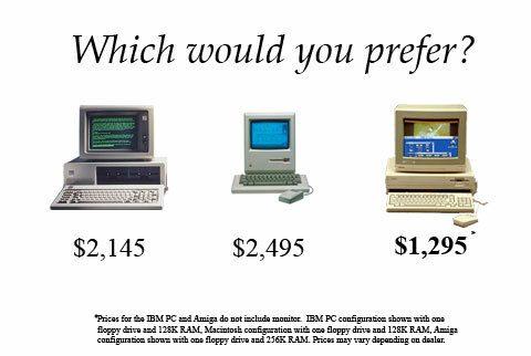 An early Amiga advert