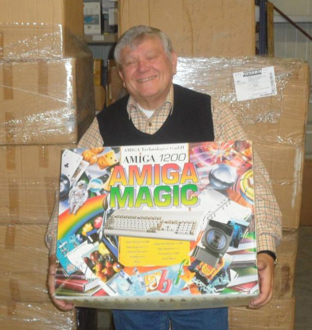 Petro with one of the final Magic Packs